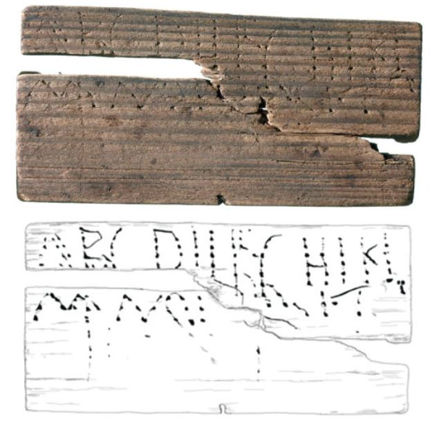 Earliest known writing in Britain