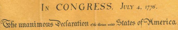 Declaration title